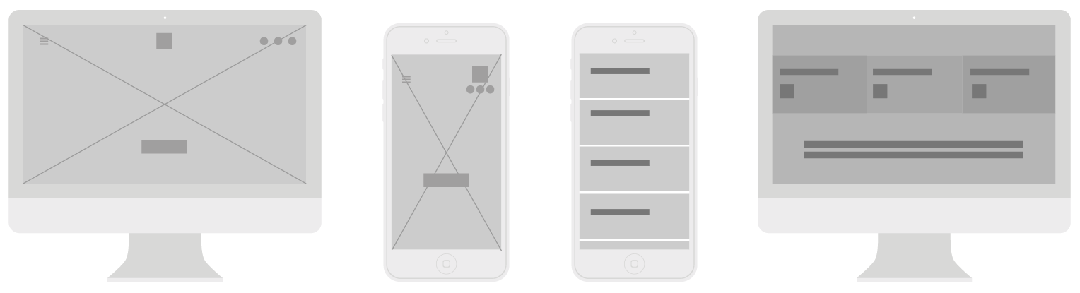 Marshall Amplification | wireframes